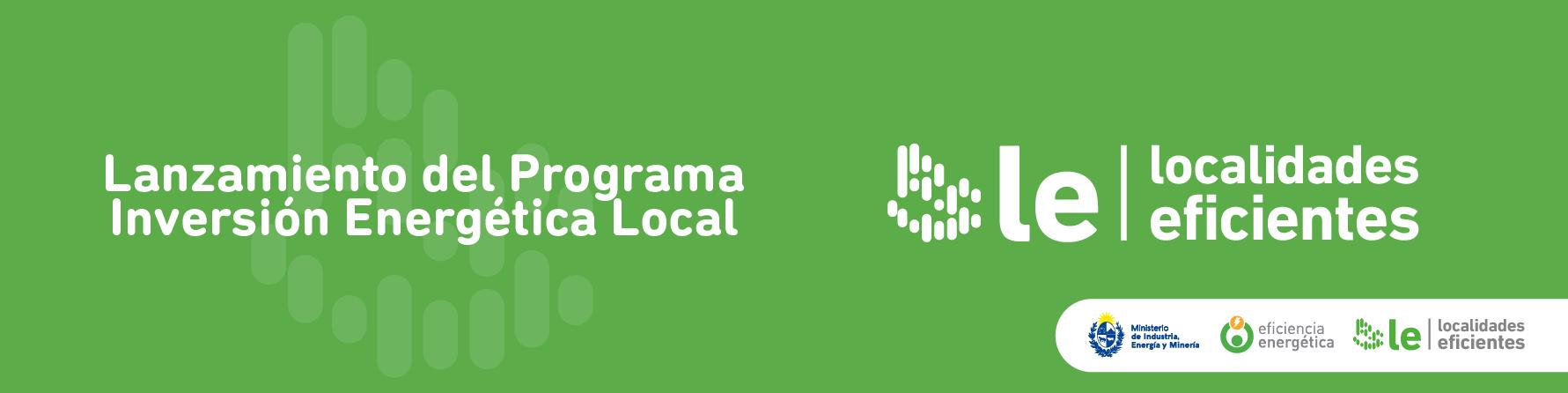 Programa Localidades Eficientes