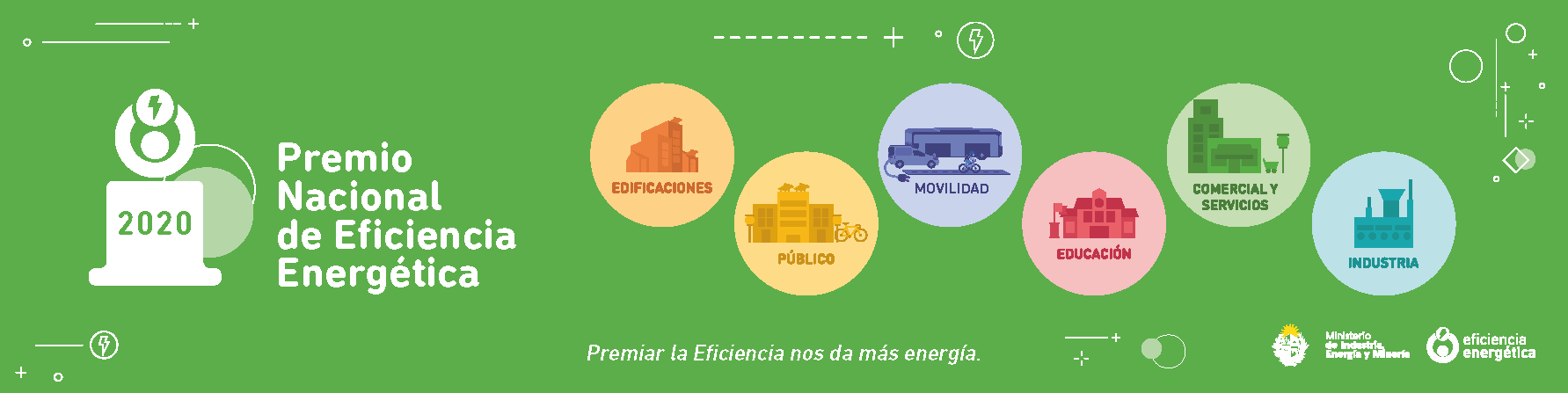 Está abierta la convocatoria para postularse al Premio Nacional de Eficiencia Energética 2020