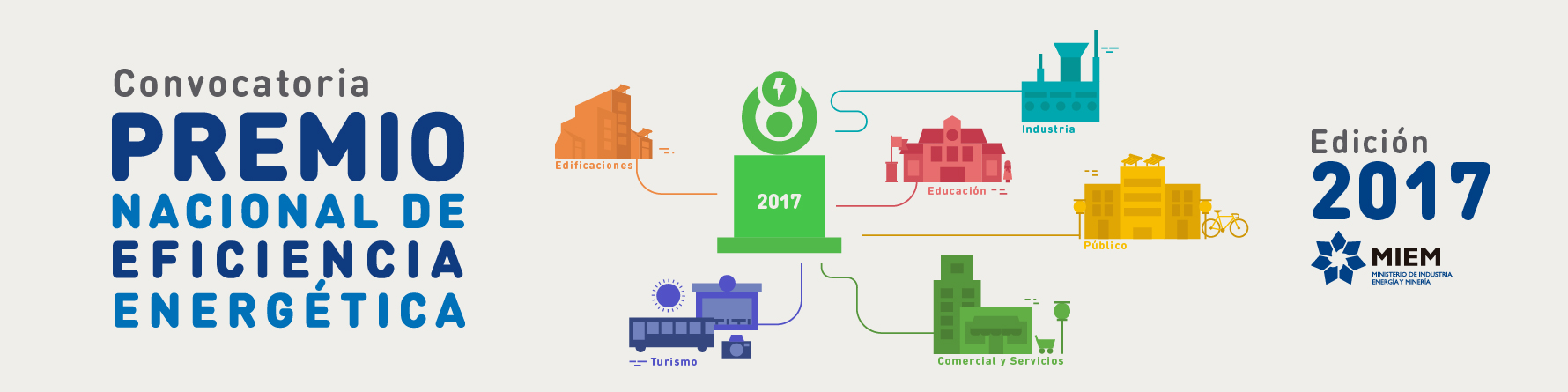 Convocatoria Premio Nacional de Eficiencia Energética 2017