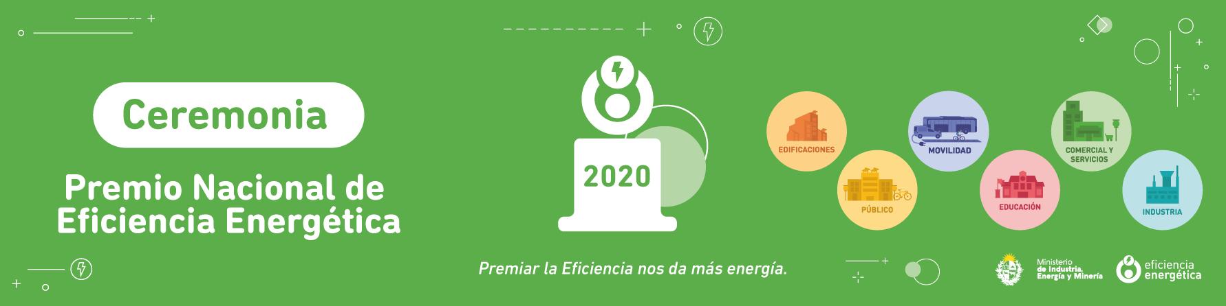 Ceremonia del Premio Nacional de Eficiencia Energética 2020